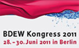BDEW Kongress 2011 Logo